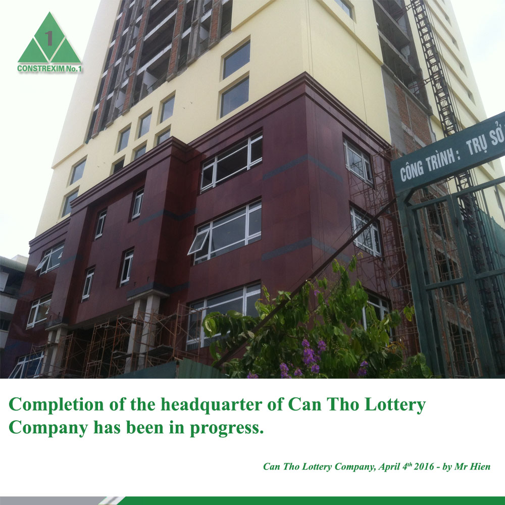 Can Tho Lottery Building
